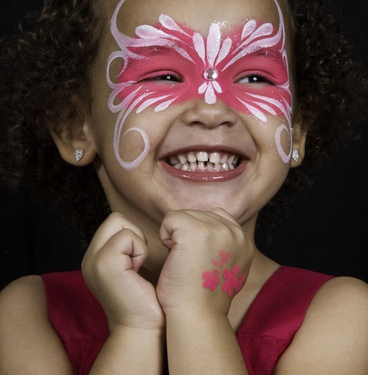 42-3 Simple Face Painting Design Tips for Kids